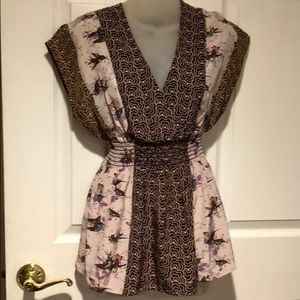 Anthropologie Corey Lynn Calter thrush song top 4
